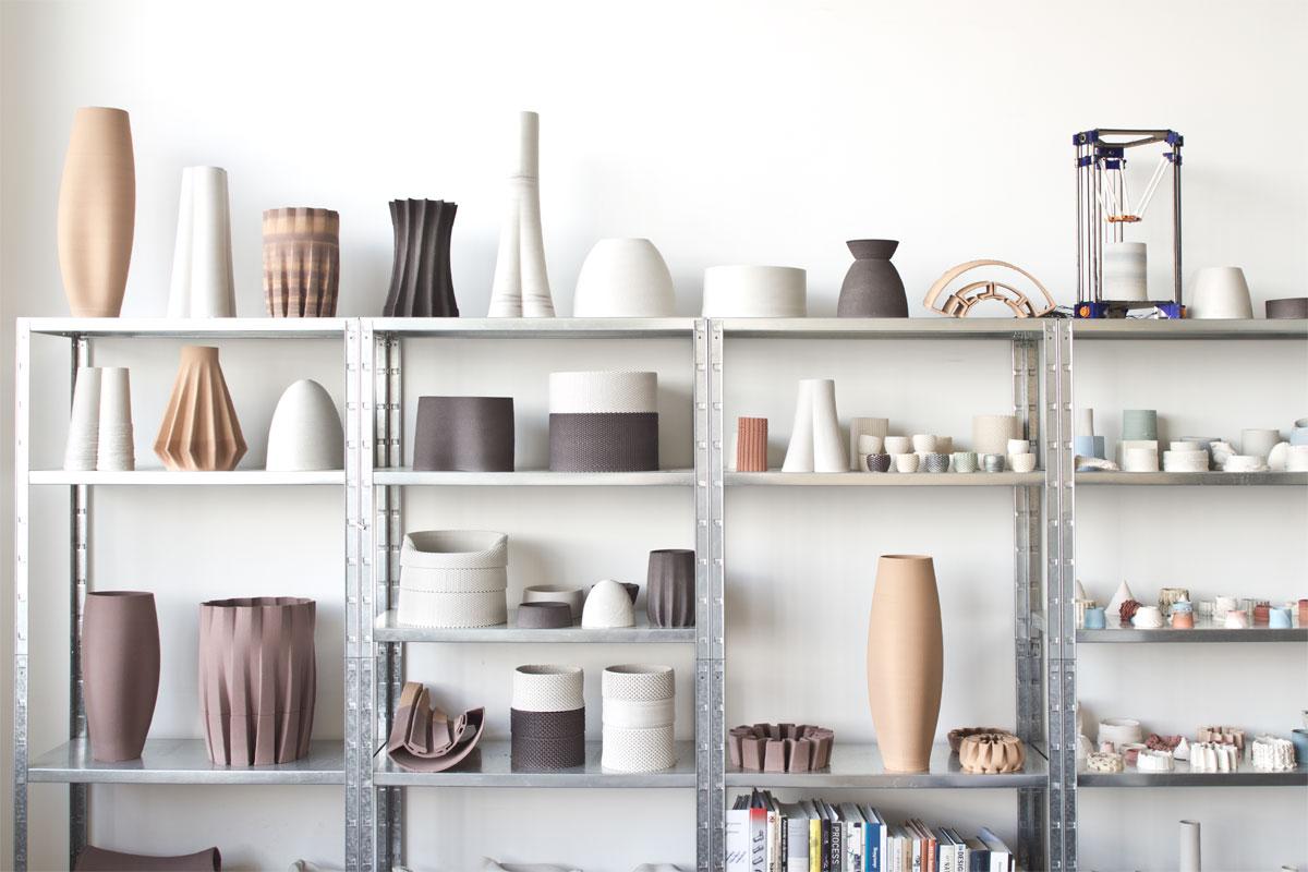 Functional 3D Printed Ceramics - Olivier van Herpt