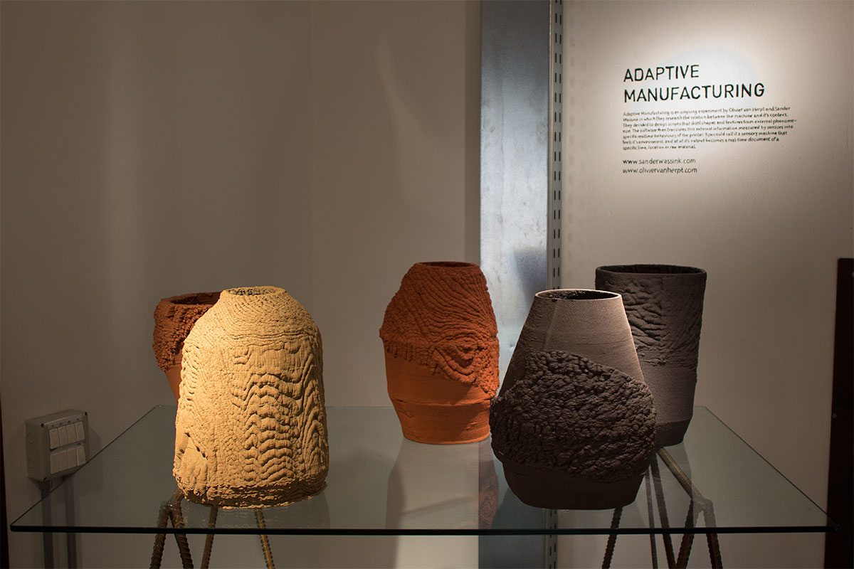 Adaptive Manufacturing ceramics